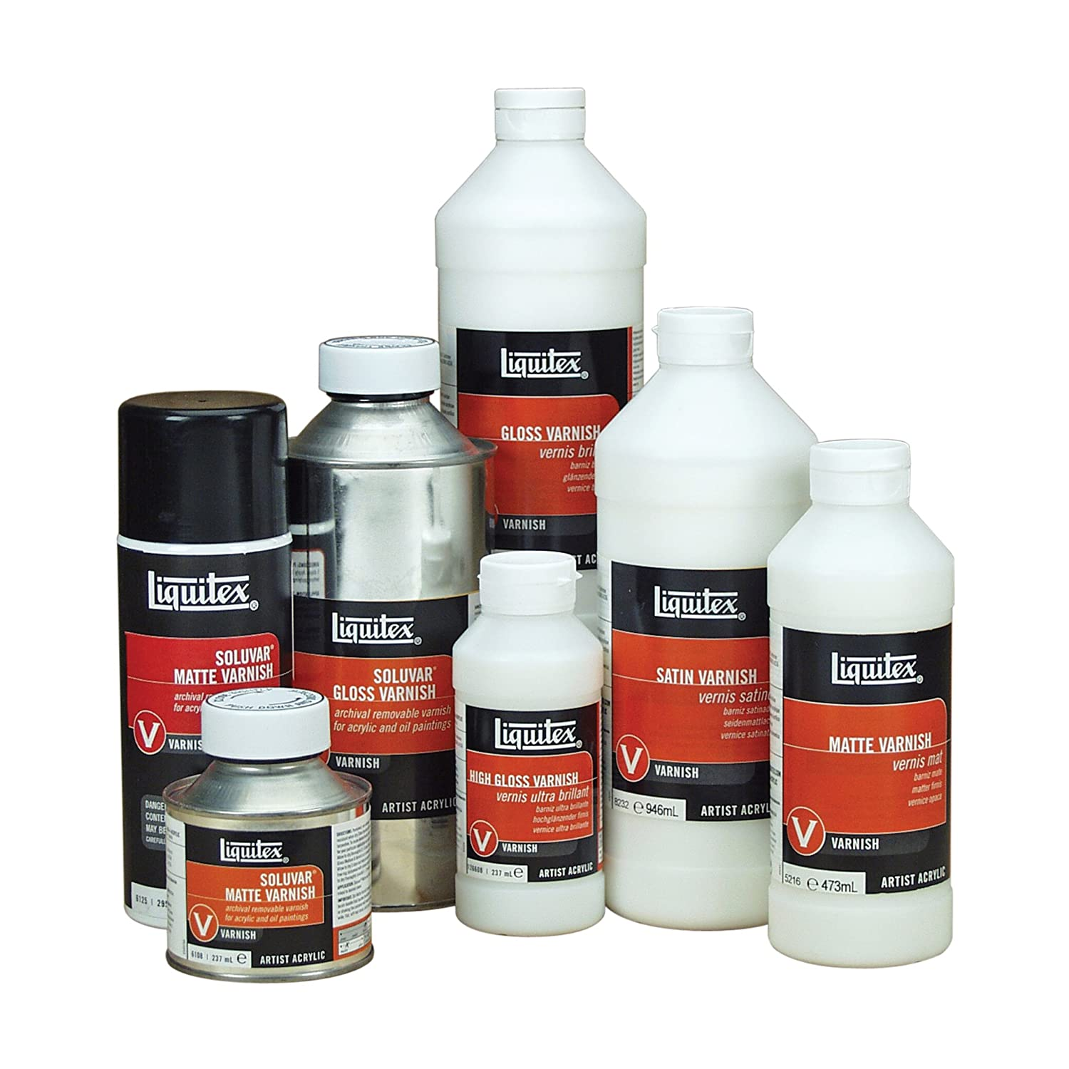 Amazon.com: Liquitex 6208 Professional Gloss Varnish, 8-oz: Arts ...