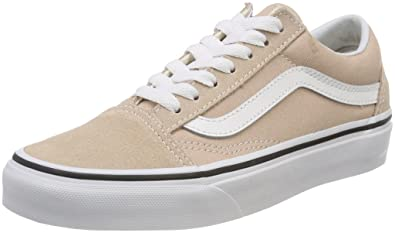 vans damen old skool sneakers beige