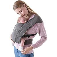 Ergobaby Embrace Cozy Newborn Baby Wrap Carrier (7-25 Pounds), Heather Grey
