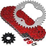 Designworks Powerlip Chain Roller Red for Honda TRX 250X FOURTRAX 1987-1988 T.M