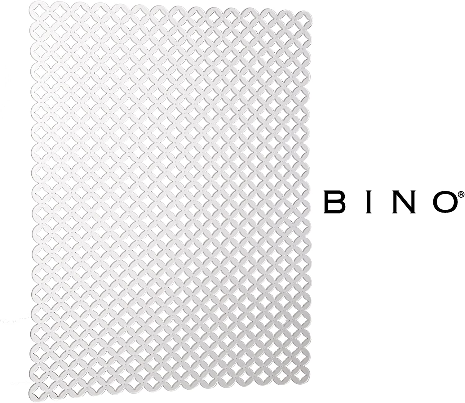 Mold and Mildew Resistant Kitchen Sink Mat with Quick Draining Design Kitchen Sink Mats For Stainless Steel Sink BINO Anti-Bacterial Kitchen Sink Protector Mat Clear Eco-Friendly