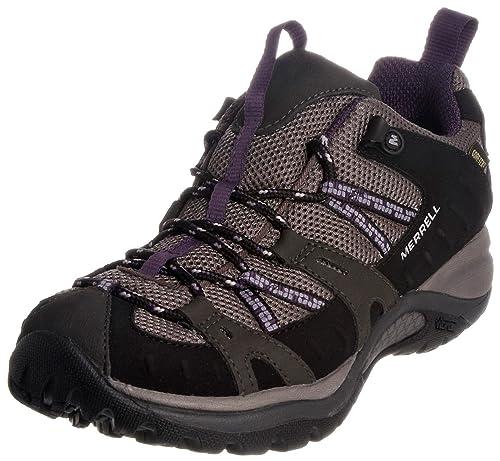 Merrell J544976, Zapatillas de Senderismo para Mujer, Negro Black Plum, 43 EU: Amazon.es: Zapatos y complementos