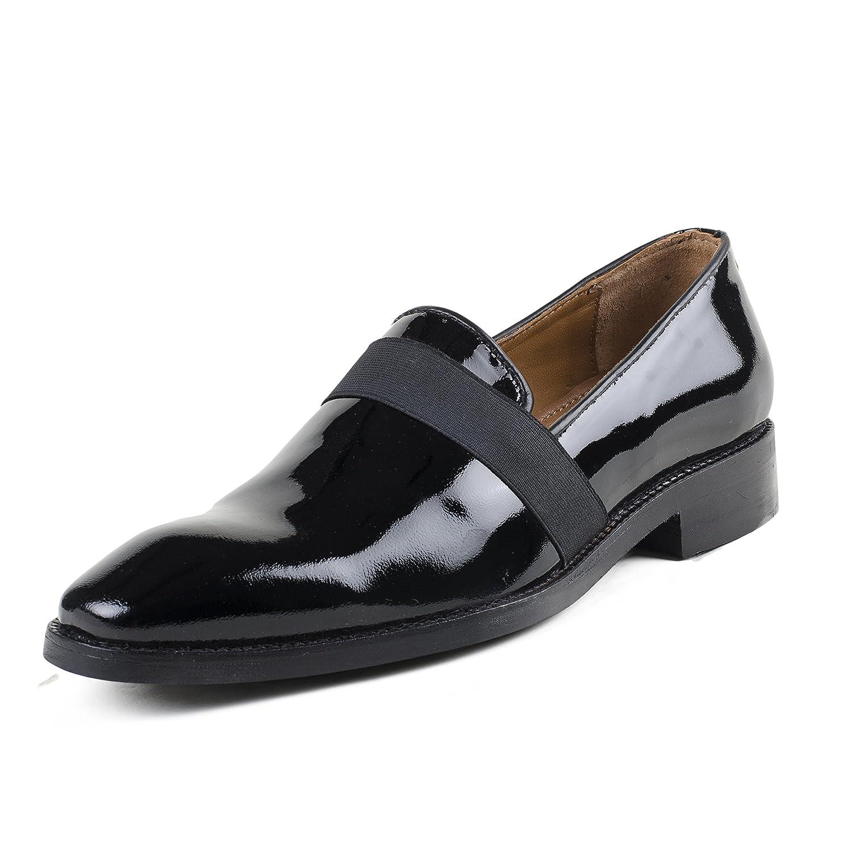 CORDONNIER Black Patent Leather Slip On