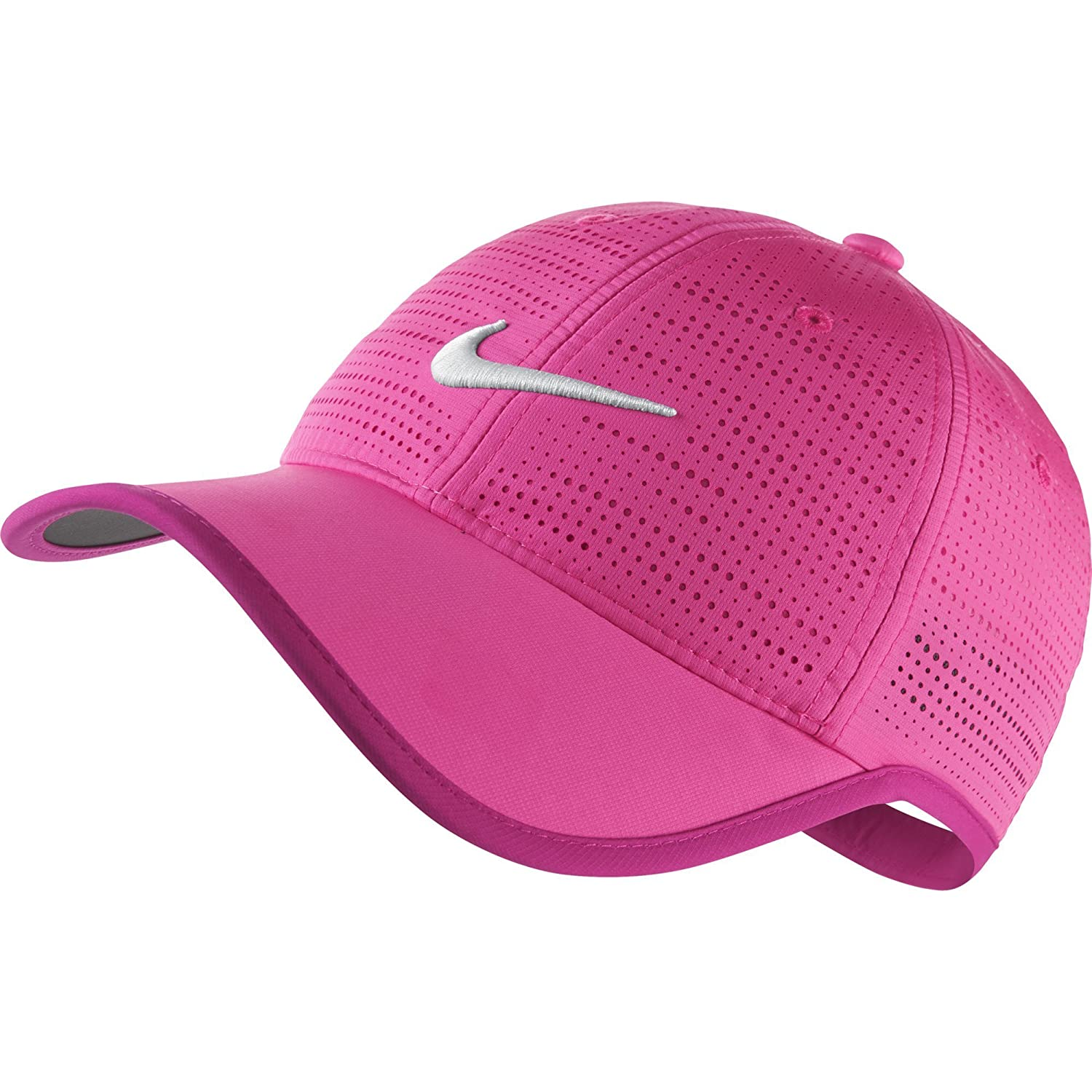 pink and black nike hat