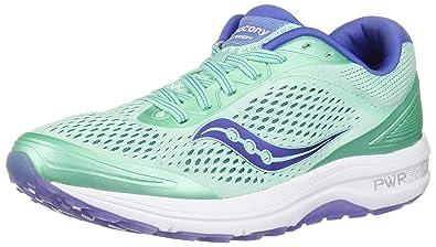 6459ae15054 Saucony Women s Clarion Sneaker Aqua Violet 10.5 ...