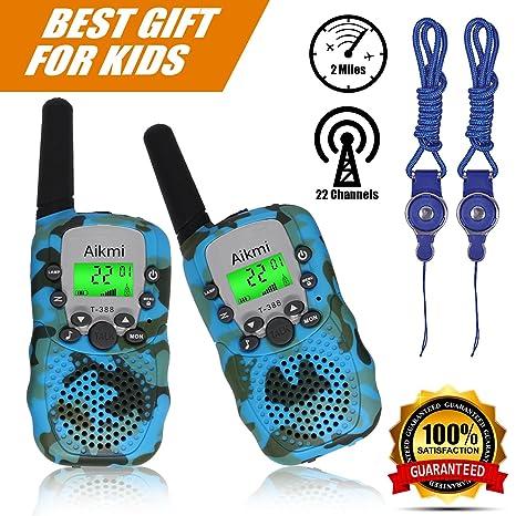ea3cd28f44c Walkie Talkies Kids Two Way Radio Wireless Interphone 22 Channel FRS GMRS  Durable Toy Handheld Walkie