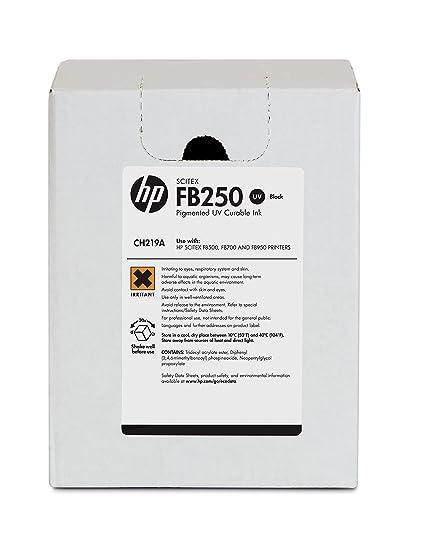 HP Tinta Negra HP Scitex FB250 de 3 litros FB250 Scitex Ink ...