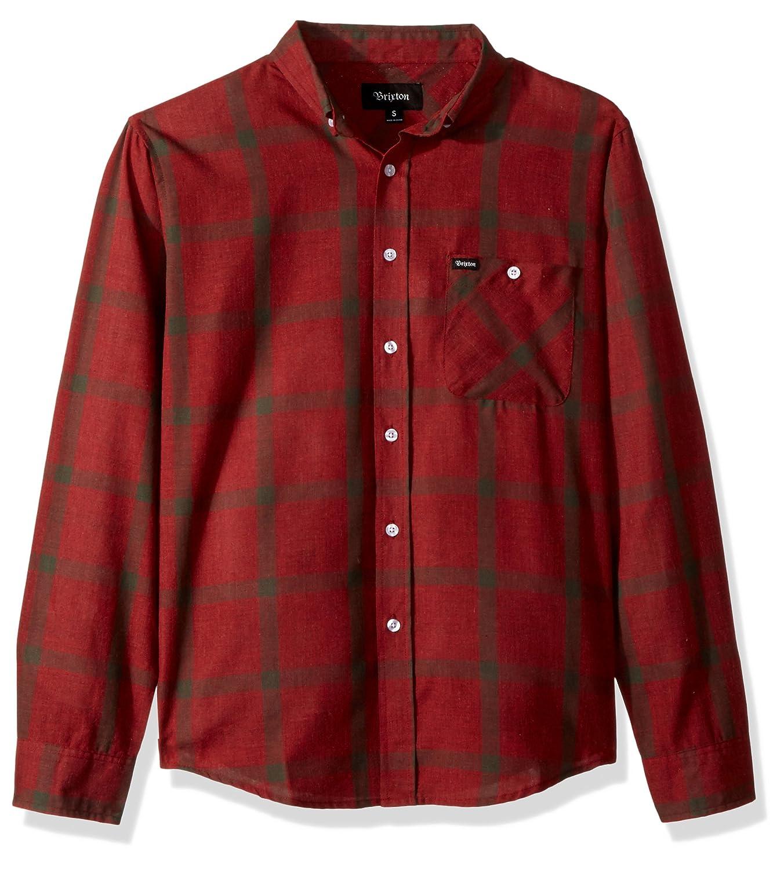Brixton Men's Howl Standard Fit Long Sleeve Woven Shirt 1120