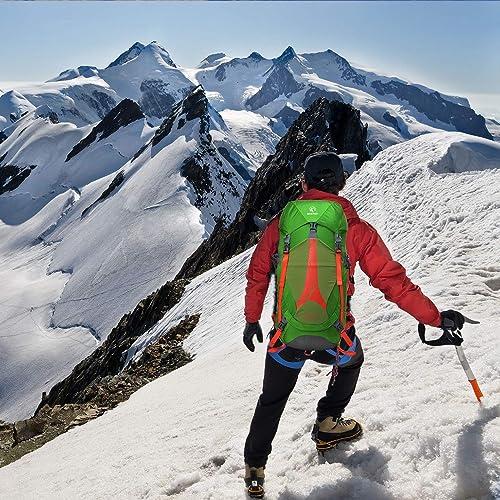 REDCAMP 45L Hiking Internal Frame Backpack, Lightweight Backpack for Hiking Travel