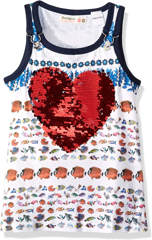 Desigual Girl Knit T-Shirt Straps TS/_Summer Bambina