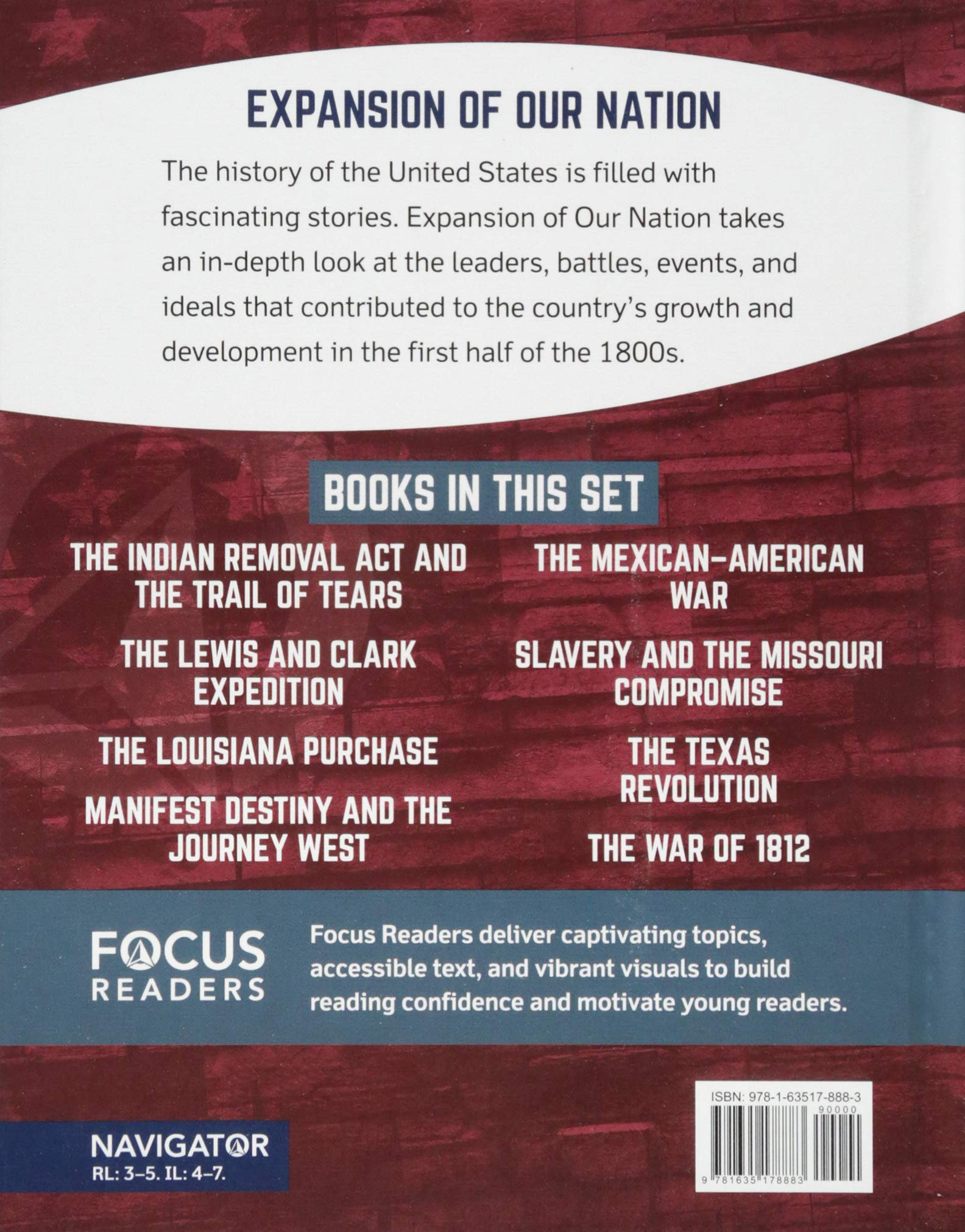 The War of 1812 (Focus Readers-expansion of Our Nation