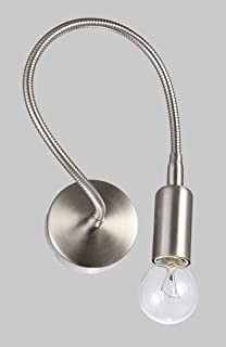lampada parete applique design moderno flessibile illuminazione interni