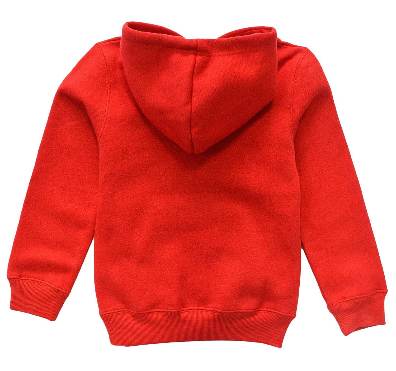 KISBINI Toddlers Boys Girls Cartoon Dinosaur Hoodies Fleece Pullover