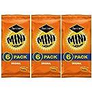 Mini Cheddars Original Flavour Jacobs Crisp Snacks 3 x Multi Packs at Least 18 Bags Ideal School Lunch Box Picnic Car Journey