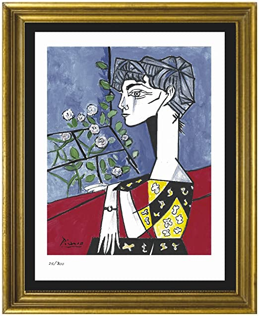 """Pablo Picasso Signed//Hand-Numbered Ltd Ed /""""Don Quixote/"""" Litho Print unframed"""