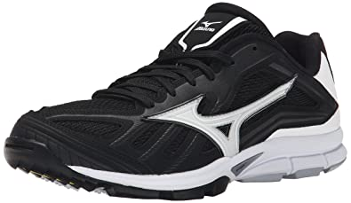 Mizuno Men\u0027s Players Trainer Turf Shoe, Black/White, ...