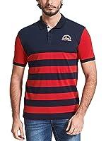 Neleus Men's Cotton Polo Shirts
