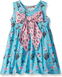e59f7ace058 Amazon.com  Jelly the Pug Girls  Little Spring in Paris Abbey Dress ...