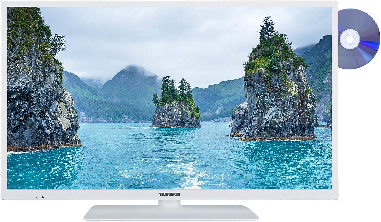 Telefunken Xh32e411d W 81 Cm 32 Zoll Fernseher Hd Ready Triple Tuner Smart Tv Dvd Player Heimkino Tv Video
