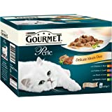 Gourmet Perle Delicate Meat's Duo, 12 x 85g - Pack of 4