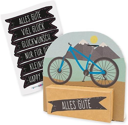 itenga Caja de regalo de bicicleta de montaña moderna con lámina ...