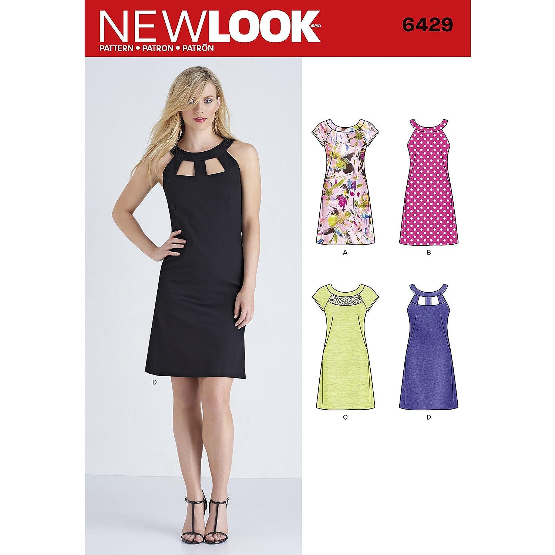 New Look Schnittmuster für Damenkleider, Papier | eBay