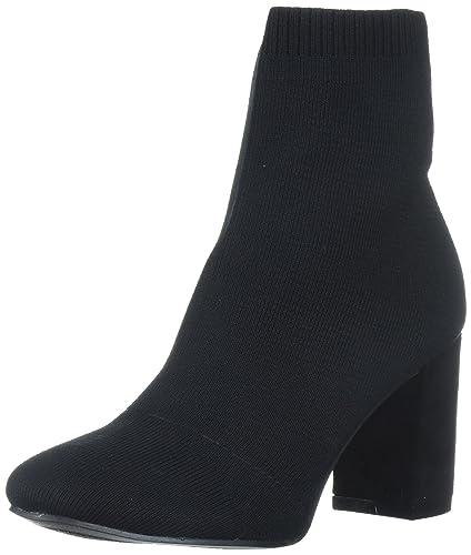 40c6c37ab0bab MIA Women's Ramona Ankle Bootie, Black, 6 M US