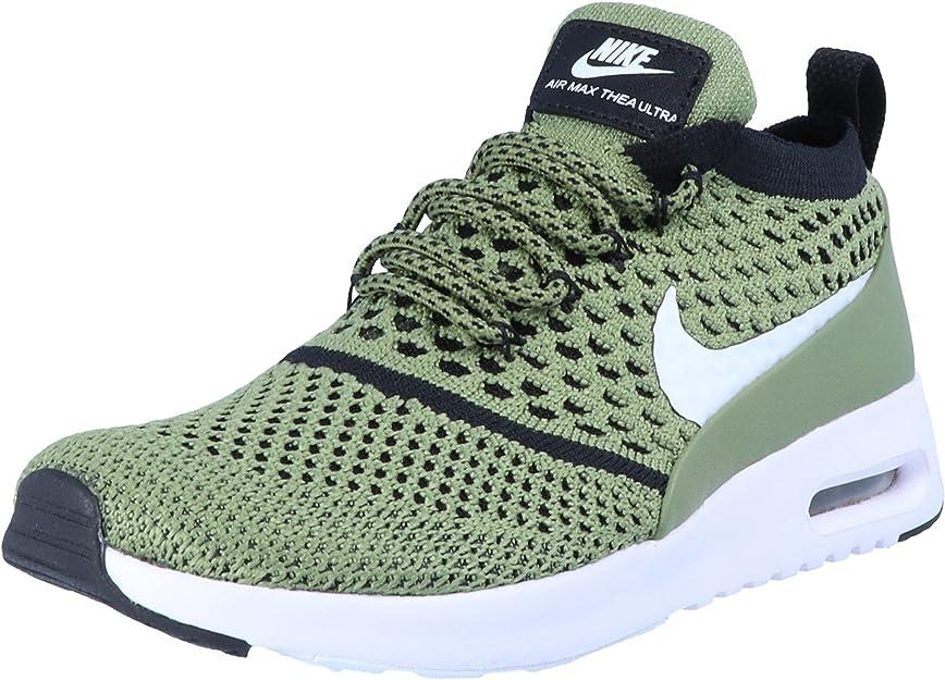 Nike Air Max Thea Ultra FK Flyknit Damen Schuhe Grün Fashion Sneaker Premium Turnschuhe Sportschuhe Textil