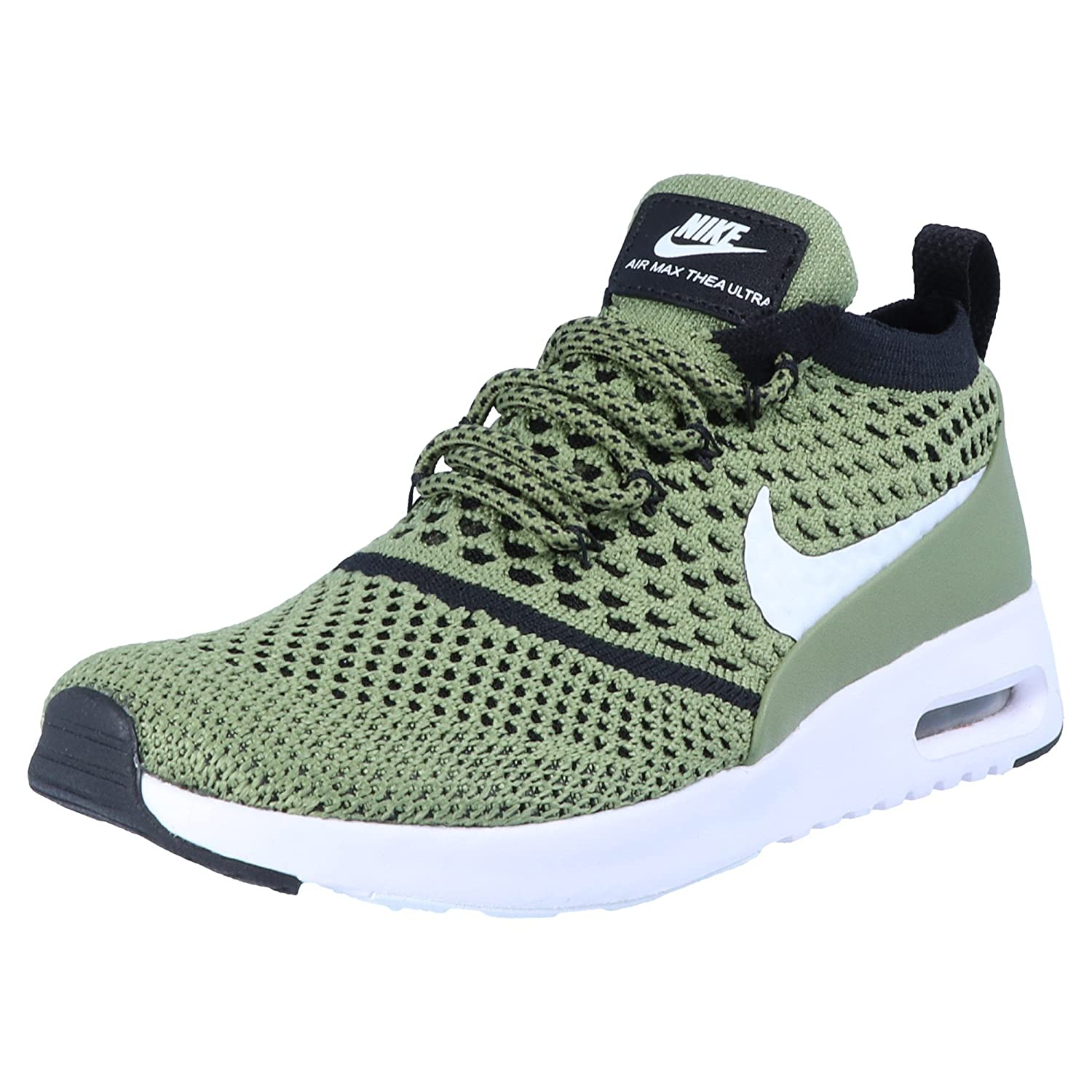 Nike - Air Max Thea Flyknit Palm Green - Sneakers Mujer 38.5 EU|Verde