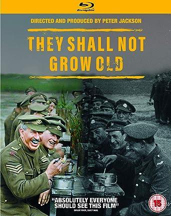 Amazon com: They Shall Not Grow Old [Blu-ray]: Warner Bros