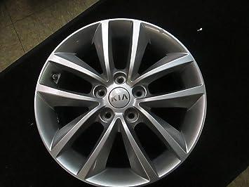 17 pulgadas 2016 Kia Sorento OEM rueda de aleación de plata pintado borde 97281 17 x 7 5 x 4,5: Amazon.es: Coche y moto