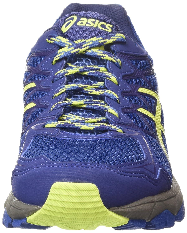 Asics Gel-Fujitrabuco 4, Damen Laufschuhe, Blau (Slate Blue/Sharp Green/Carbon 4285), 39.5 EU