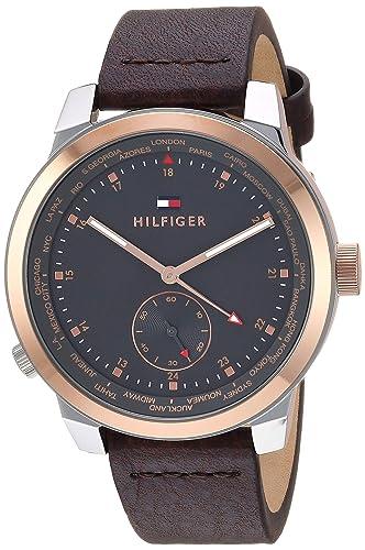 Tommy Hilfiger Tommy Hilfiger Denim Pinnacle Reloj 1791554: Amazon.es: Relojes