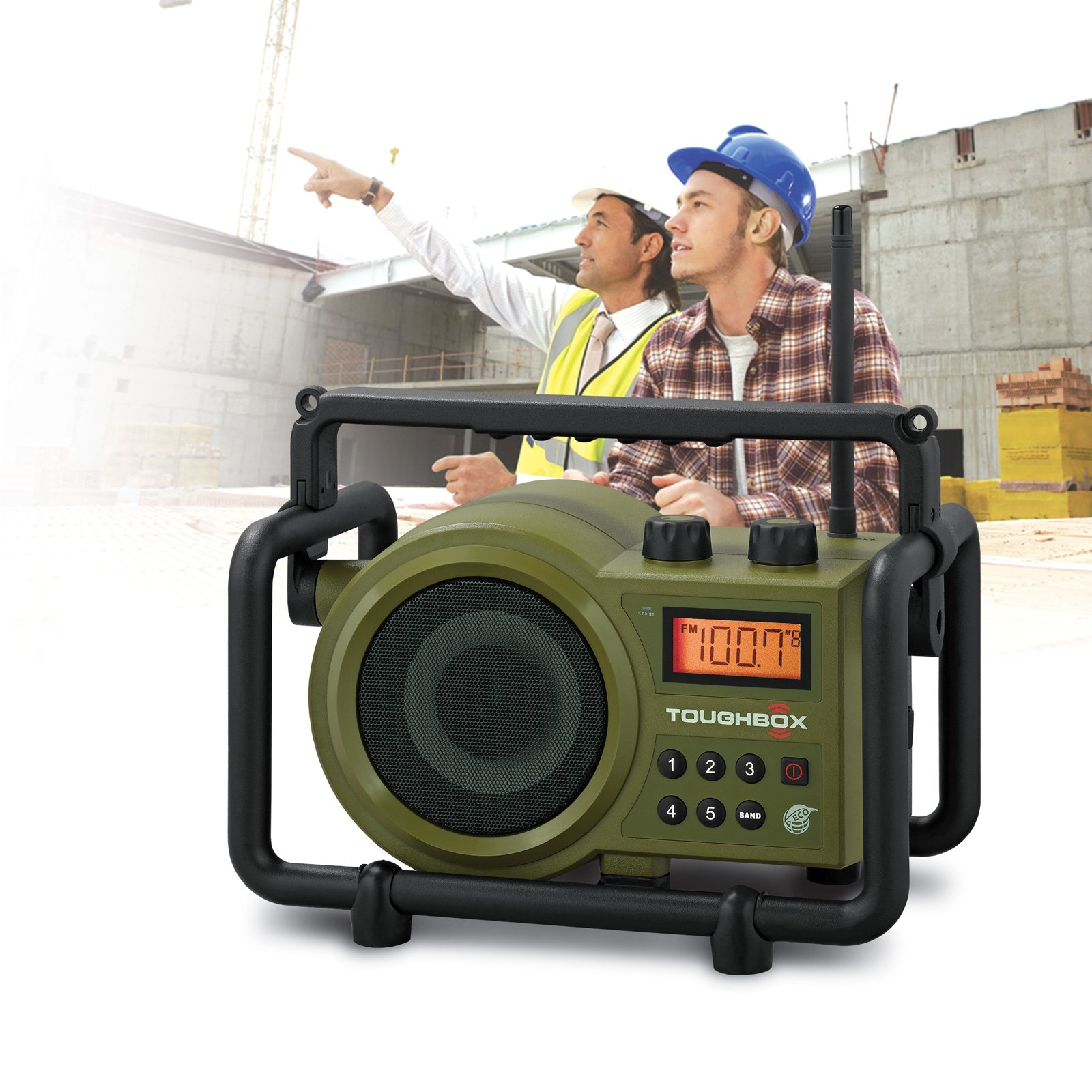 Sangean TB100 Toughbox Rugged Digital Radio Rechargabl