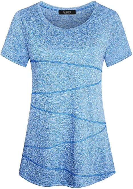 Amazon.com: iClosam - Camiseta de manga corta para mujer ...