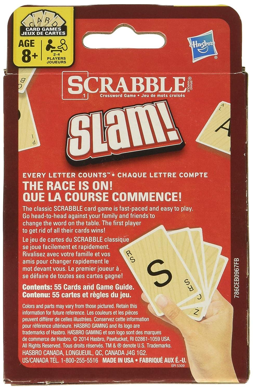 Hasbro Scrabble Slam Card Game