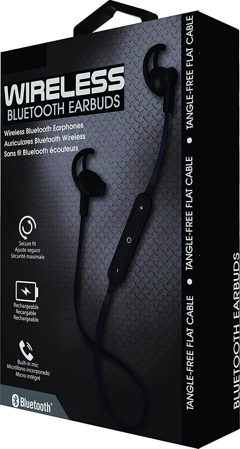Amazon.com: Coby Wireless Bluetooth Headphones (CEBT406) (Black): Electronics