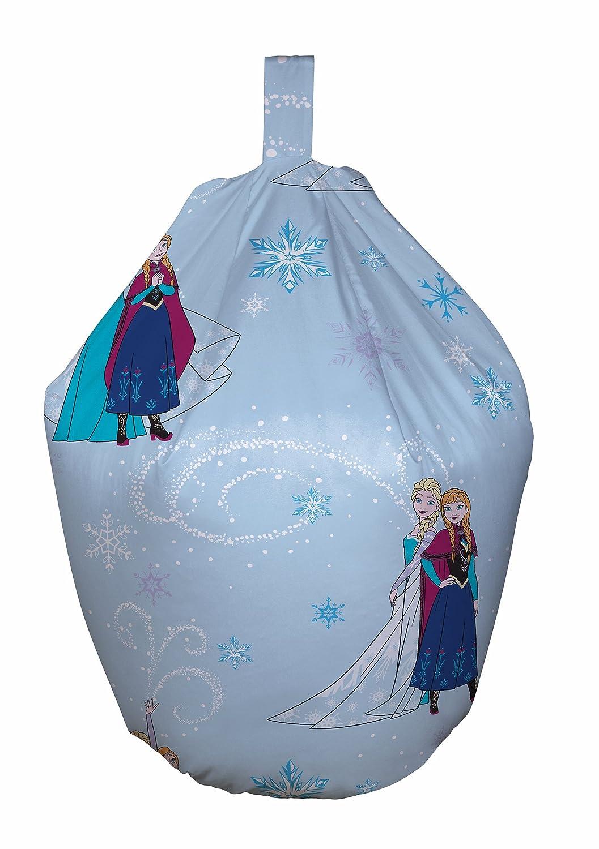 Disney Frozen Bean Bag, Cotton, Blue, 52 x 38 x 52 cm Character World DFRLHT3F001UK