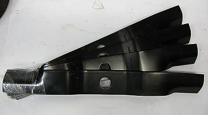 Amazon.com: Conjunto de 4 cuchilla de Oregon Cortacésped ...