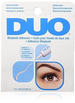 413fe6362aa DUO Striplash Faux Eyelash Adhesive Water Proof Solution, Clear, 0.25 oz./7  g.: Amazon.ca: Beauty