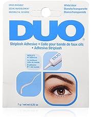 DUO Striplash Faux Eyelash Adhesive Water Proof Solution, Clear, 0.25 oz./7 g.