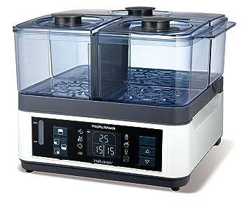 Morphy Richards Intellisteam Food Steamer 8.2L 48781 Digital Display White  Electric Food Steamer