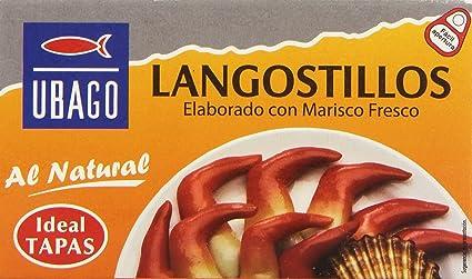 Ubago Langostillos, Elaborado con Marisco Fresco - 45 g