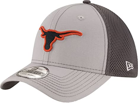 low priced ce707 a72ca ... get new era mens texas longhorns grey heathered neo 2 39thirty hat  a13b5 184ff