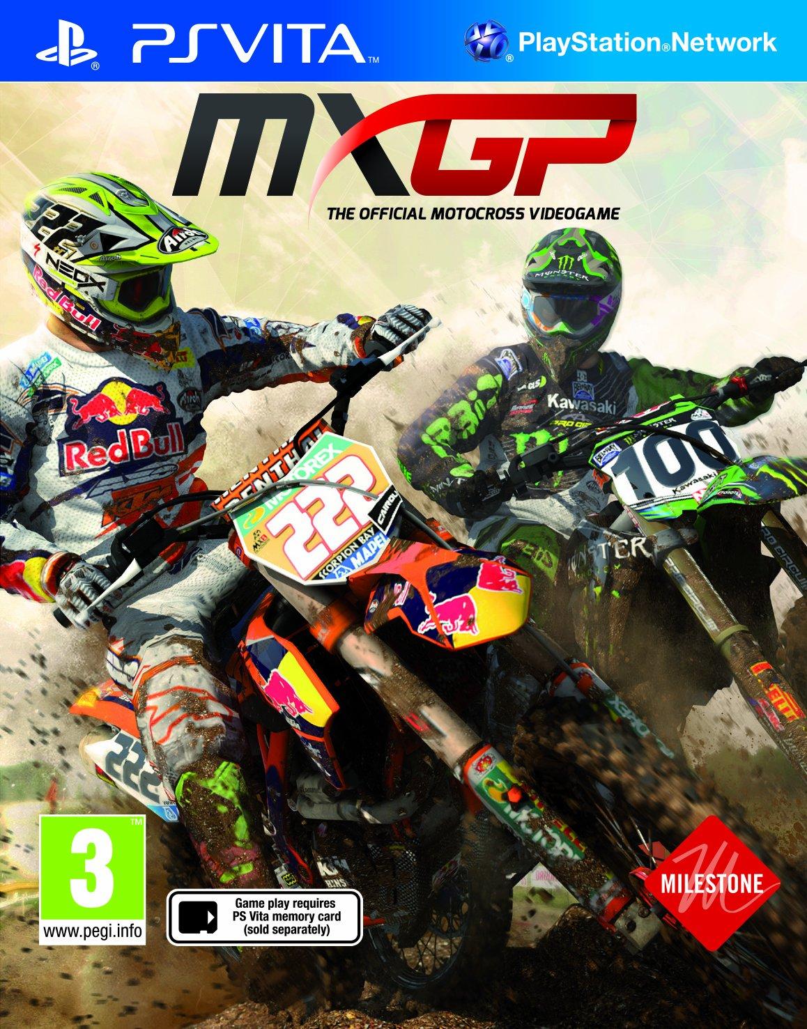 MXGP - The Official Motocross Video game (Vita) (UK Import)