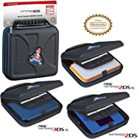 RDS Industries Hard Protective 3DS Carrying Case - Compatiable with Nintendo 3DS, XL, 2DS, XL, New 3DS, 3Dsi, XL…