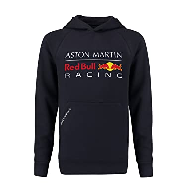 9d5eab487 Red Bull Racing Aston Martin Kids Blue Authentic 2018 F1 Pull Over Hoodie  (1-