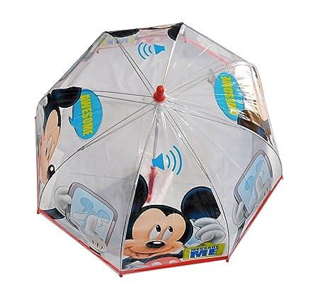 Mickey Mouse - Paraguas Manual Transparente- modelos aleatorios ...