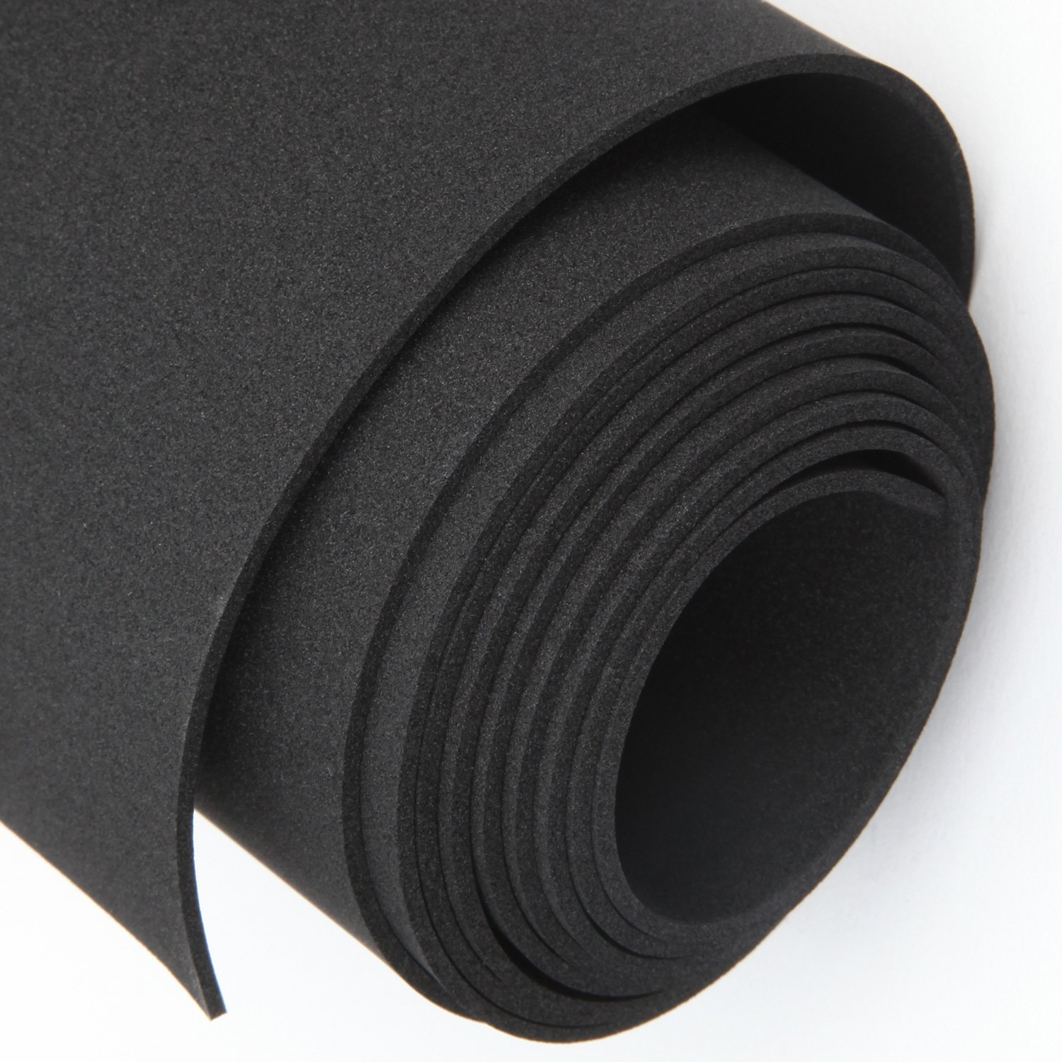 Foam Padding Roll >> Magzo Rubber Padding Foam Roll 1 16 Thick X 12 Wide X 4 9 Feet Long Non Adhesive Insulation Rubber Sheet Neoprene Insulation Multi Function