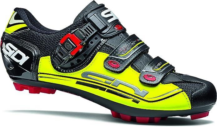 SIDI - Zapatillas de Ciclismo de Sintético para Hombre Amarillo Nero Giallo Fluo Amarillo Size: 45 EU: Amazon.es: Zapatos y complementos
